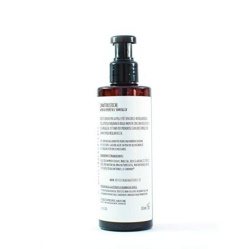 shampoo doccia vaniglia menta dettagli oa