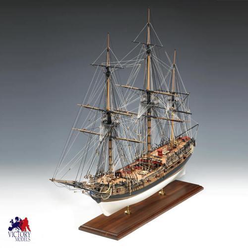 61 AMATI SCATOLA DI MONTAGGIO HMS FLY
