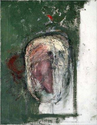 William Utermohlen, Autoritratto, 1999.