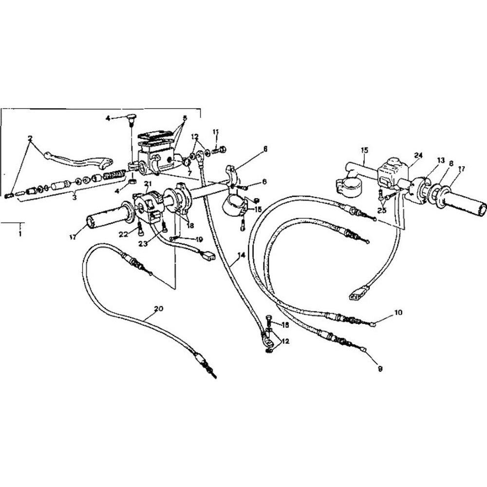 Clutch master cylinder service kit Ducati 750 Super Sport