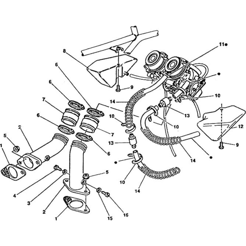 Intake manifold gasket Ducati 900 Super Sport