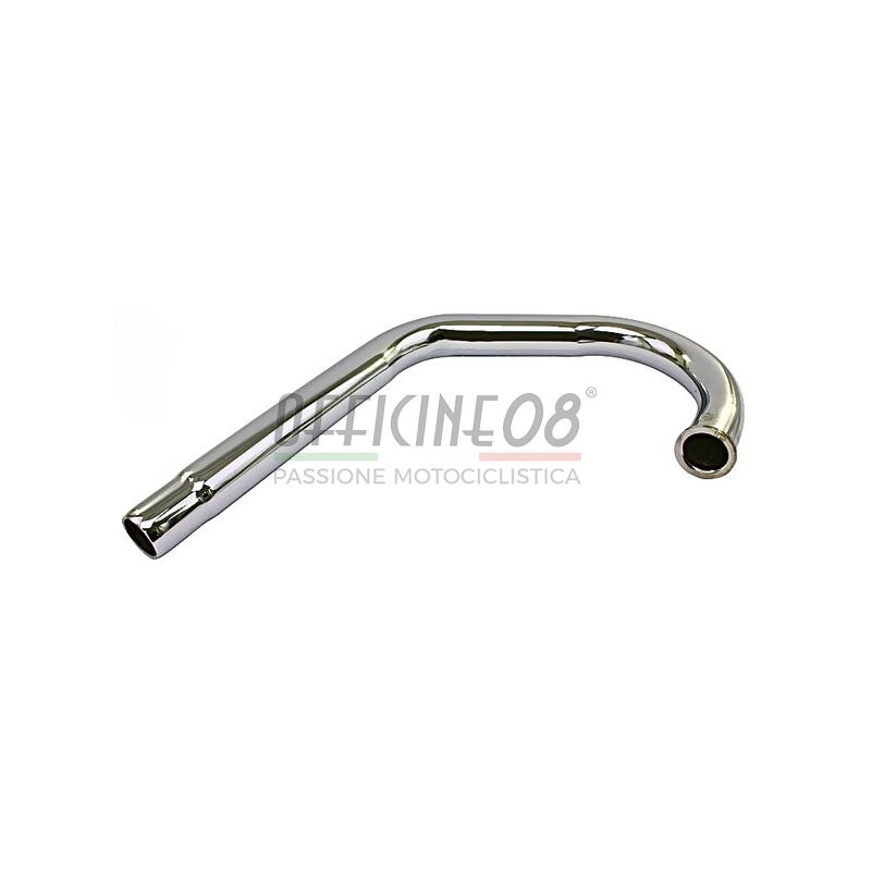 Exhaust pipe Moto Guzzi 850 T3 chrome right