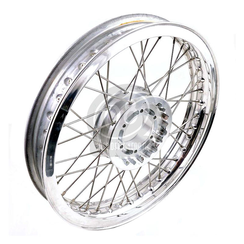 Complete spoke wheel kit Moto Guzzi 850 Le Mans 17''x2.15
