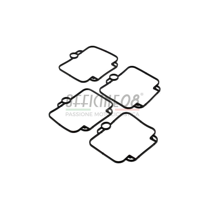 Set n.4 guarnizioni vaschette carburatori per Suzuki DR 650 R