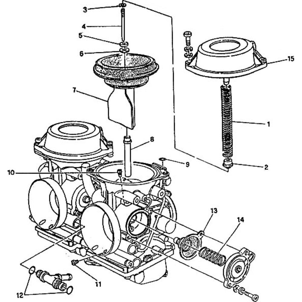 Membrana pompa di ripresa per Ducati Monster 900