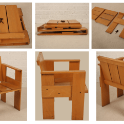 Gerrit Rietveld Crate Chair Double Recliner Chairs With Cup Holders Archivoglio La Dal 1935 Al 2014 Pioniera Del