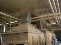 Industrial exhaust hoods