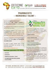 PHARMACISTS INCREDIBLE TALENT