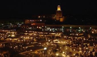 MARRAKECH - Place Djema El fna