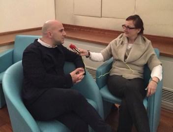 Lucciarini intervistato dalla radio austriaca Orf 1