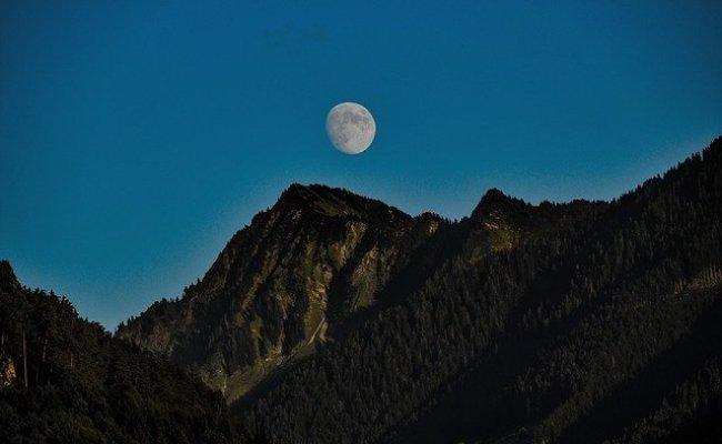 Moon Twilight Atmosphere