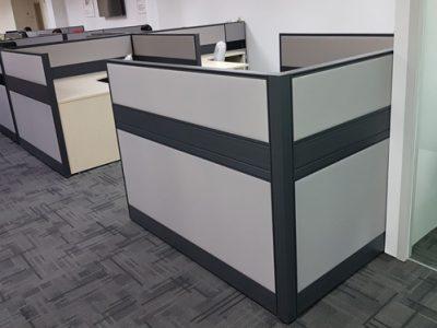 Avan Niche - T60 Series L-shaped Panel Workstation