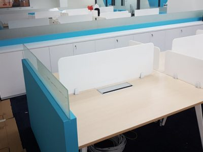 Mentor Media - BA Series System Furniture Workstation