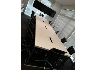 Makino Asia Pte Ltd for Erecon Construction - DE Series Conference Table
