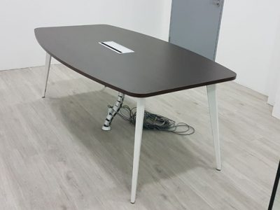 Wish Controls Pte Ltd - Boat-shaped BA Series Conference Table