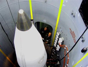 ground based interceptor missiles at the missile defense site at Ft. Greeley near Fairbanks, Alaska Sunday Aug. 27, 2006