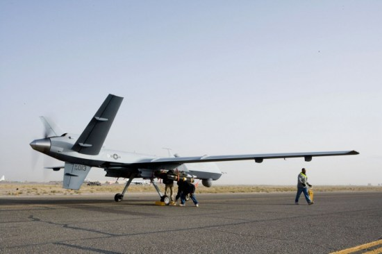 MQ-9 Reaper drone. Air Force photo.