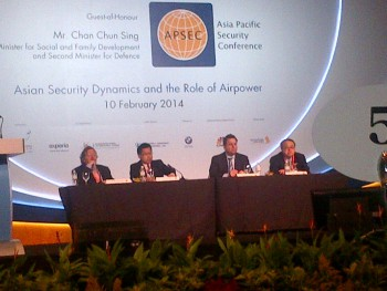 7th Asia Pacific Security Conference, Singapore (Photo by Jeong Lee).