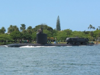 The only ever built ASDS attached on the USS Charlotte (SSN-766).