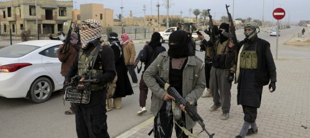 Sunni Militants in Fallujia