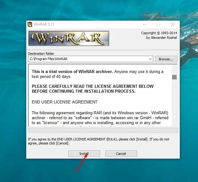 Download Winrar Offline Installer