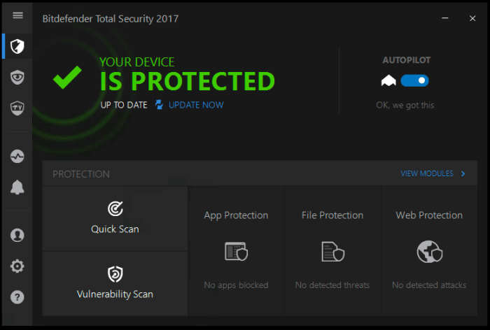Download Bitdefender Offline Installer
