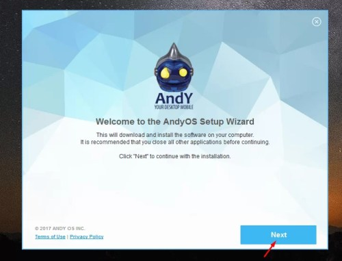 Download Andy Offline Installer