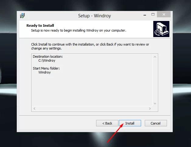 Download Windroy Offline Installer