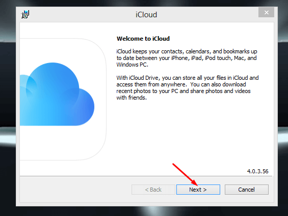 iCloud for Windows PC