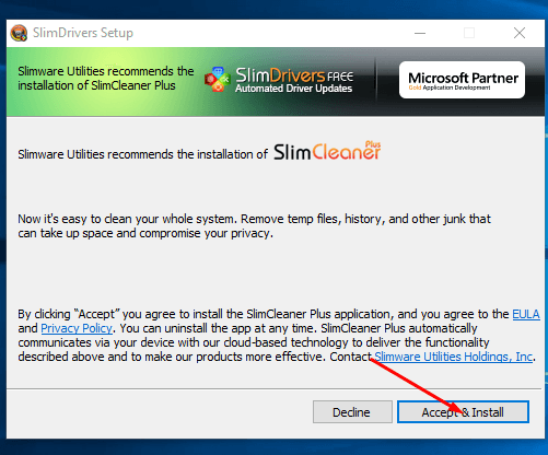 Download SlimDrivers Offline Installer