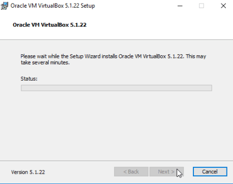 VirtualBox for Windows