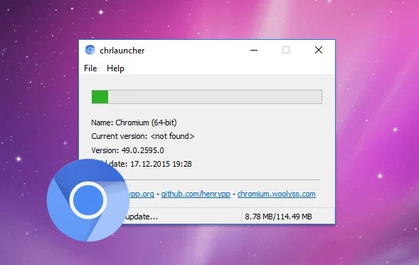 Download Chromium Offline Installer