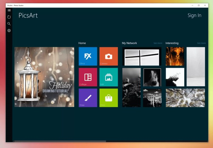 PicsArt for Windows