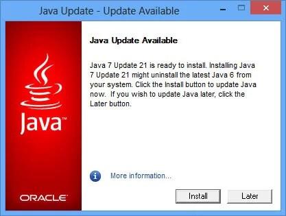 Download Java 7 Offline Installer