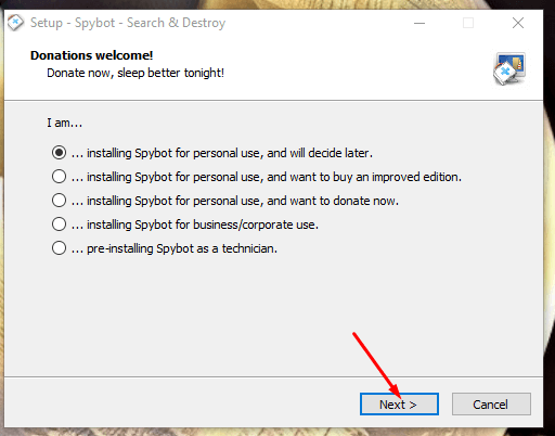 Download SpyBot Offline Installer
