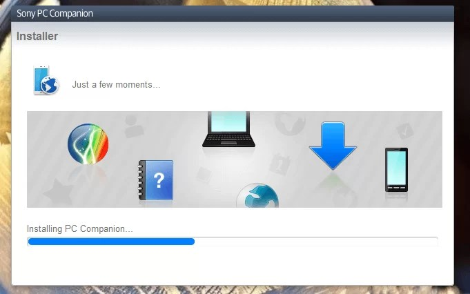 Download Sony PC Companion Offline Installer