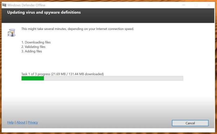 DownloadWindows Defender Offline Installer