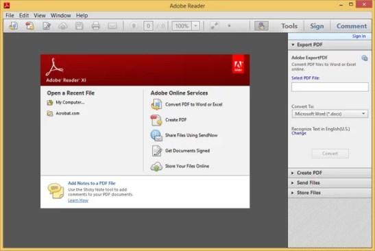 adobe pdf reader offline installer free download