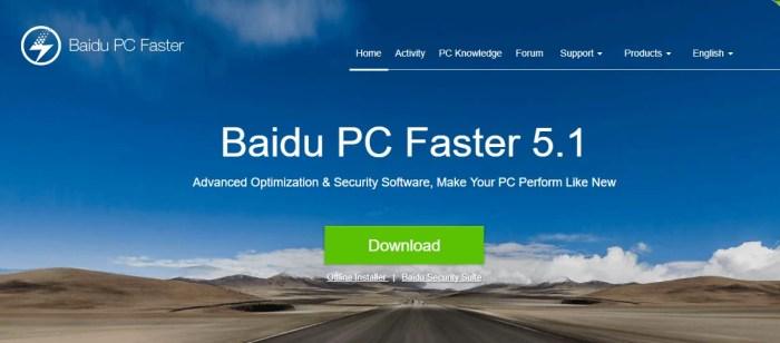 Download Baidu Cleaner Offline Installer