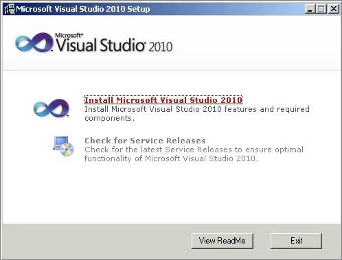 Download Visual Studio 10 Offline Installer