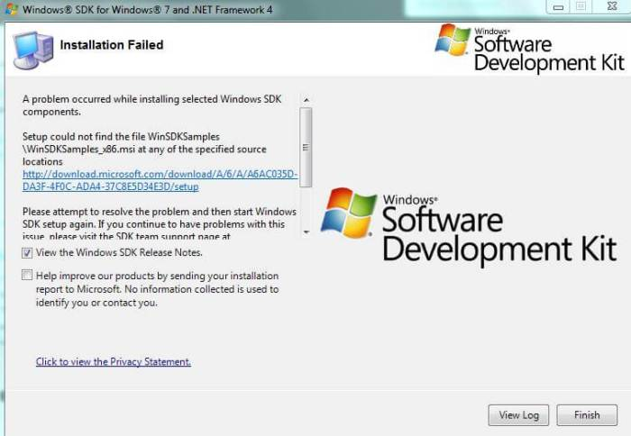 Download Windows SDK Offline Installer