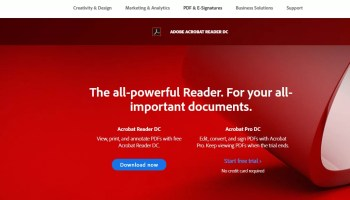 Adobe Acrobat Reader Offline Installer for Windows PC
