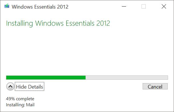 Download Windows Live Mail 2012 Offline Installer