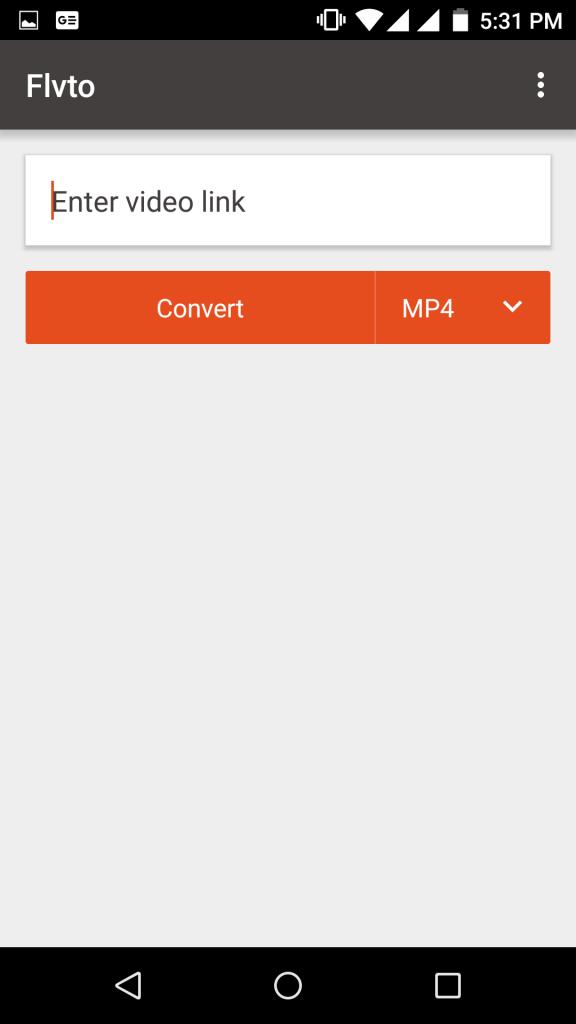 screenshot- Flvto-App