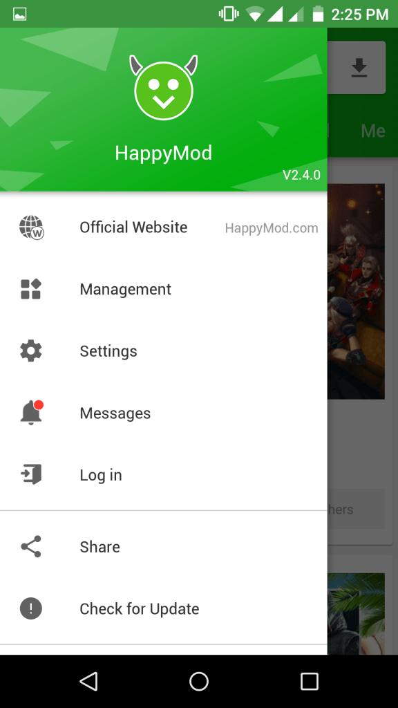 Screenshot-Happy-Mode-App