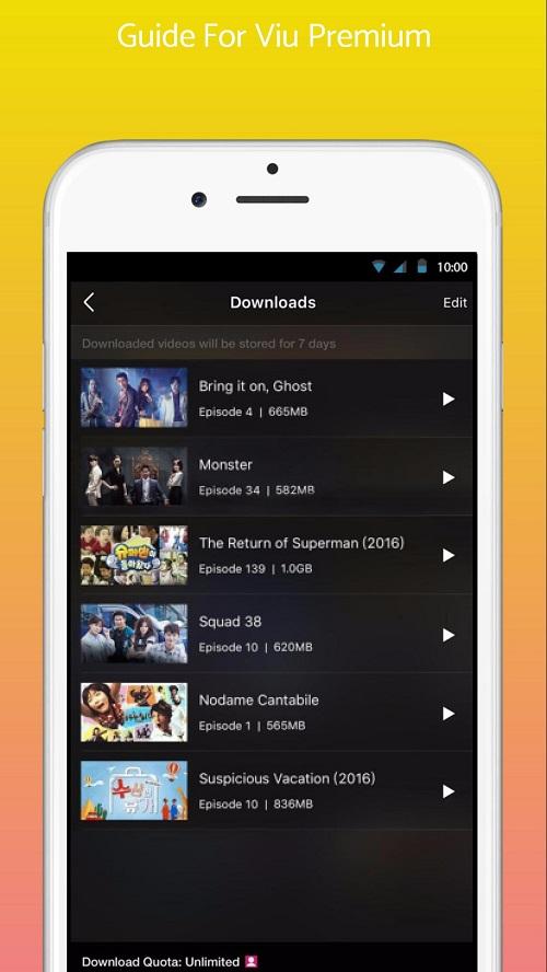 Screenshot-Viu-Premium-App