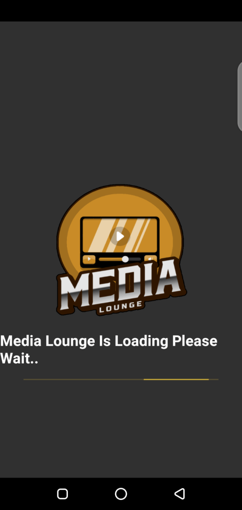 Screenshot of Media Lounge