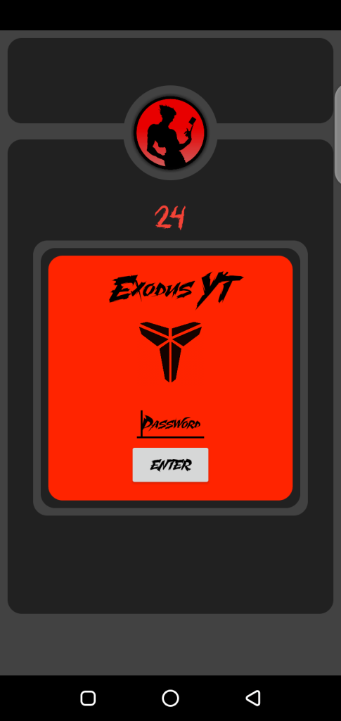 Screenshot of Exodus Injector Apk