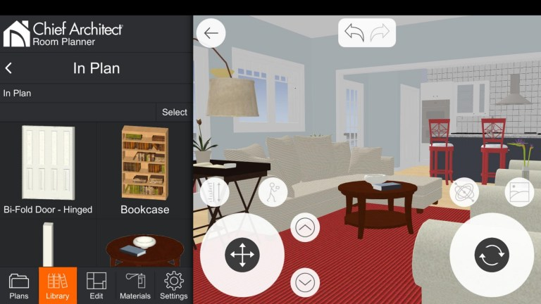 Screenshot of Room Planner Pro