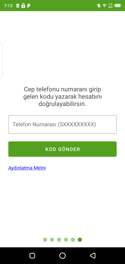 Screenshot of Hayat Eve Sığar App